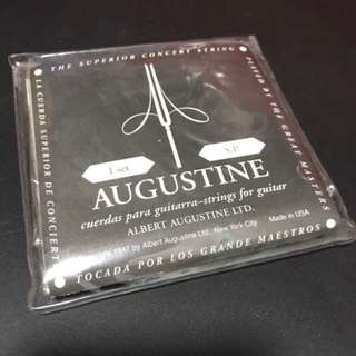 Augustine black LT classical guitar strings