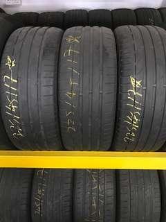 Tayar Second 225/45/17 runflat Bridgestone S001 3pcs