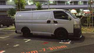 Hiace wheel fender /arc