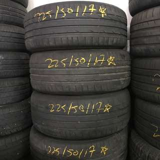 Tayar Second 225/50/17 Bridgestone S001 runflat 4pcs