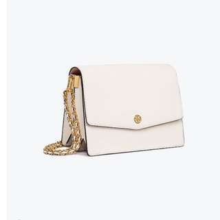 Tory Burch Leather White  Shoulder Bag
