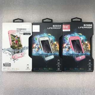 Lifeproof Fre & Nuud for iPhone 6S