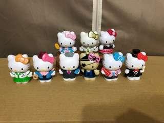 🚚 Hello Kitty角色扮演公仔8款、隱藏版