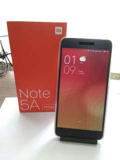 """Mi Note (Prime) 5a (New) pro edition  32 gb 5.5"""" Full HD display. 16 mp selfie camera.  256 gb sd card slot.  Can trade in phone plus💰 :-)"""