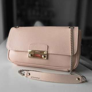 Authentic Furla Julia Small Pochette Crossbody Bag