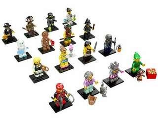 Lego Minifigure Series 11 71002 set of 16 Sealed