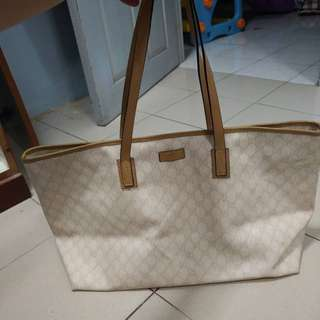 Authentic Gucci Tote Bag Large