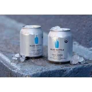 【限時預購】BLUE BOTTLE COFFEE 冰滴咖啡易開罐 08/10 到貨