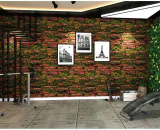 🎊 Promo leaf bricks wallpaper