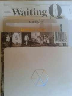 EXO,NUEST & WANNA ONE ALBUM