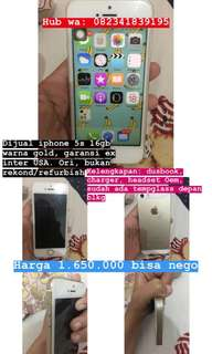 Iphone 5s ori garansi ex inter USA