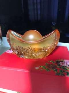 古法琉璃元宝名片夹