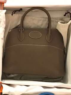 全新有單 Hermes Bolide 31手袋 大象灰色 Hermes Bolide 31 handbag in Etoupe (brand new with receipt)