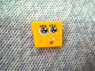 Jibbitz Inspired Crocs Charm: Spongebob