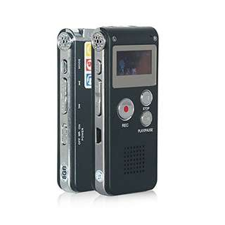 (542) Digital Voice Recorder MP3 Player-Black