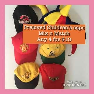 Preloved Children's Caps