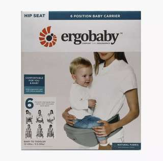 Ergo Baby 6 Position Hip-seat Carrier