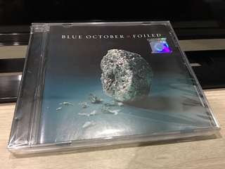 Blue October | Foiled