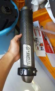 Giannelli exhaust RS125