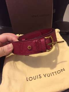 100% authentic Louis Vuitton woman leather belt