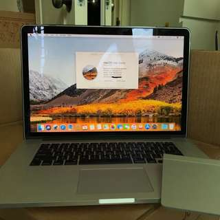 "15"" MacBook Pro Retina with Magic Trackpad"