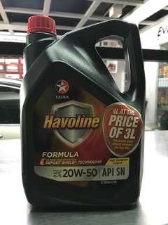 Havoline Formula 20W-50