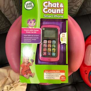 Brand new Leapfrog Chat and Count phone