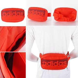 ORIGINAL: ADIDAS LINEAR PERFORMANCE WAIST BAG (scroll down to see the real picture)