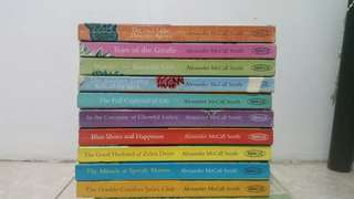 Alexander McCall Smith books (Series)