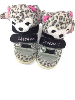 Skechers Leopard Bear Baby Shoes