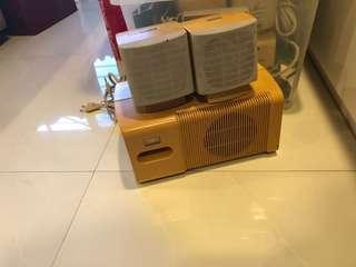 Altec Lansing Multimedia Computer Speaker System Powered Subwoofer