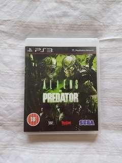 Aliens vs Predator game PS3
