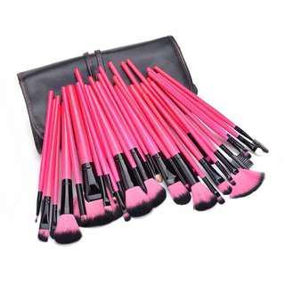 32pcs Black/Pink/Brown Makeup Brush Brushes Make Up Eyeshadow 32pcs Black/Pink/Brown Makeup Brush Brushes Make Up Eyeshadow