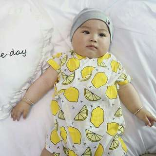 *FREE DELIVERY to WM only / Ready stock* Kids fruits design kimono rompers each as shown in design/color. Free delivery is applied for this item.