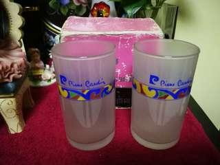 Pierre Cardin玻璃水杯一對