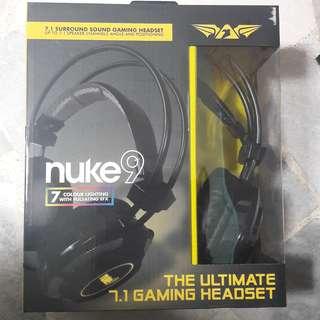 ARMAGGEDDON NUKE 9 (7.1 Surround sound Gaming headphones)