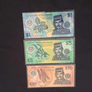Negara Brunei Darussalam Polymer Notes