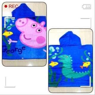 Shop8 : PEPPA PIG HOODED TOWEL