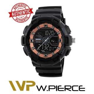 Skmei 1189 W.Pierce SKMEI Digital Watch Men Multifunction Waterproof LED Military Sports Watches Dual Time Analog Digital Casual Men Wristwatches Casio,Zoo York,Timex,Time Depot,Mossimo,G-Shock,Gshock