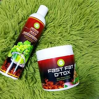 FIRE FAT BURNNER & FAST FAT D'TOX