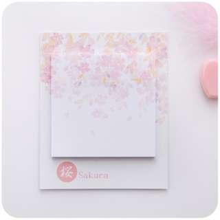 🚚 Sakura Flowers (TOP) Sticky Notes