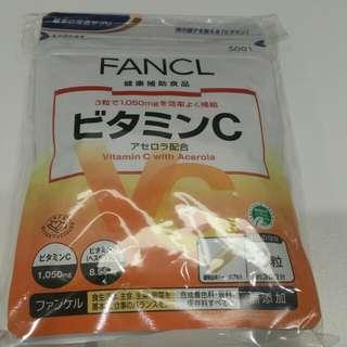 Fancl 天然果實維他命C丸 3包30粒