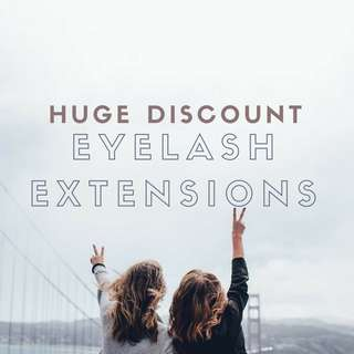 $35 Lash Extension Discount! Models Needed