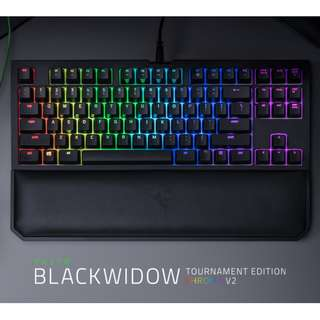 Razer BlackWidow Tournament Edition Chroma V2 Mechanical Gaming Keyboard (Yellow Switch)
