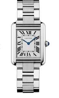 Cartier TANK SOLO WATCH SMALL MODEL, STEEL