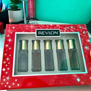 Revlon Roll On Perfume Set