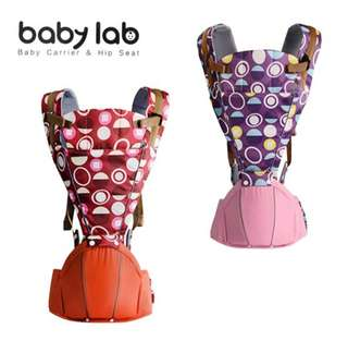 Baby Carrier and Hip Seat Colourful (Suitable for 0-36 months)