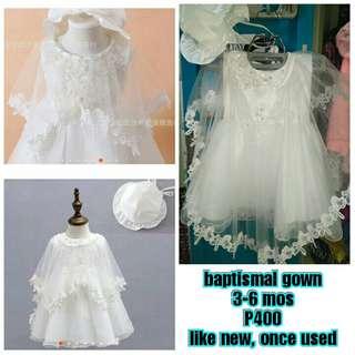 Baptismal dress for her