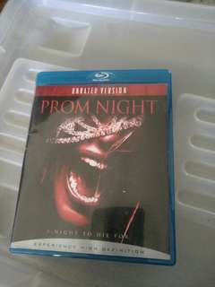 Blu ray, Prom Night, unrated version