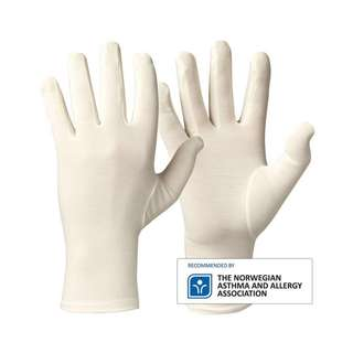 Comfortable Bamboo Hand Gloves - Suitable for Eczema, Dermatitis, Sensitive and Cracked skin